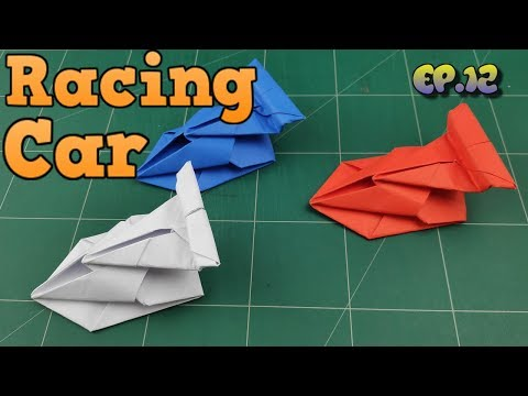 How To Make Easy Car Paper Model | Origami Car Way | DIY Paper Crafts Videos Tutorial Ep.12
