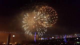 Салюты Новый год 2018 Одесса морской вокзал