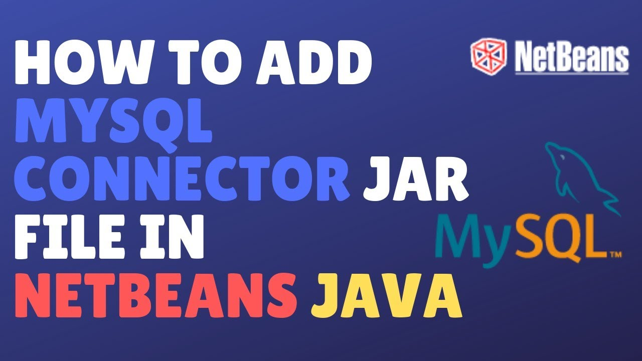 Netbeans – How To Load Jdbc Driver To Connect To Mysql