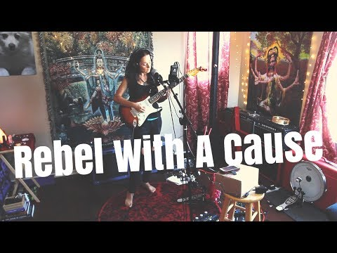"Diana Rein - One Woman Band - ""Rebel With A Cause"" (Live Studio Recording)"