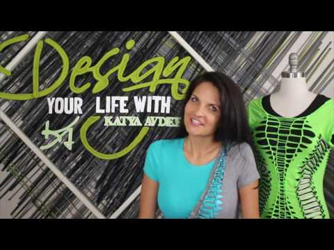 "TV Show Design Your Life with Katya Avdeev, Episode 1 "" T-shirt Transformation"""