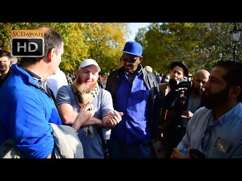 P2 - Tale of Truth! Hamza & Abbas vs Atheist | Speakers Corner | Hyde park