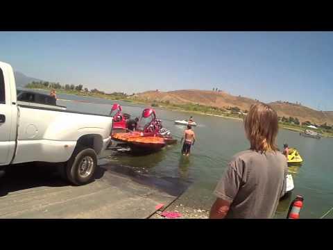 Michael Welsh Lake Elsinore Drag Boat Racing