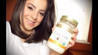 DIY: Coconut Oil Hair Treatment for Dry/Damaged Hair