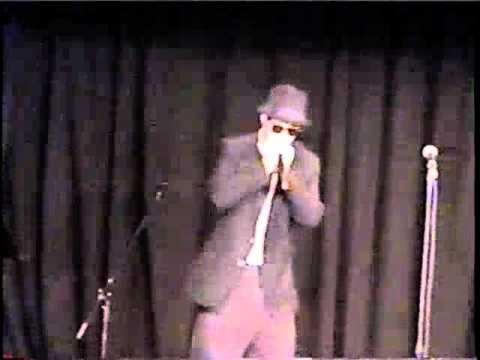 Blues Brothers tribute performs Land of 1000 Dances at Monmouth Theater in Kentucky in 2003
