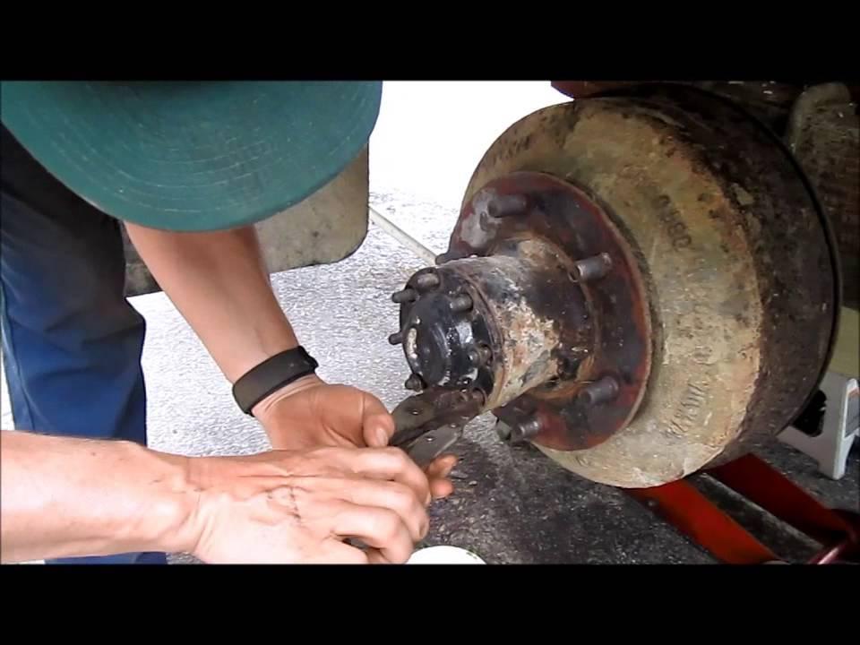 F 600 Heavy Duty Drum Brake Job  YouTube