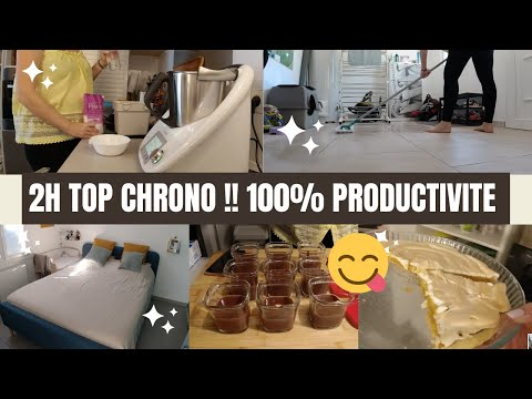 🔥🔥2h-productives-🔥🔥-recette-au-thermomix-et-menage