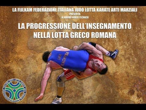 La progressione dell'insegnamento nella lotta Greco Romana