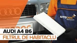 Cum se inlocuiesc filtru de habitaclu pe AUDI A4 B6 TUTORIAL | AUTODOC