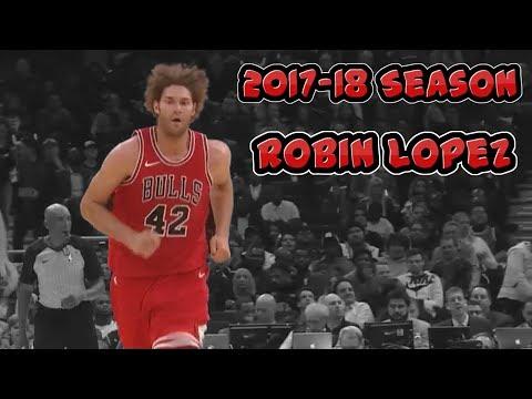 Robin Lopez Highlights 2017.10.21 vs Spurs - 16 PTS, 7 REB, 3 BLK, 3 AST - Mr. Steady!