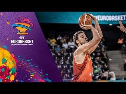 Top 5 Plays w/ Pau Gasol, Kristaps Porzingis and more! - Day 8 - FIBA EuroBasket 2017