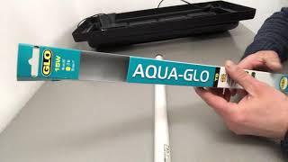 Обзор Лампа для аквариума T8, Hagen Aqua-Glo, 15 Вт, 46 см. розовая