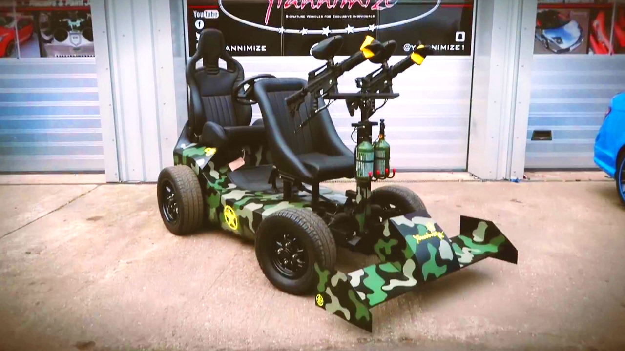 Epic Paintball Buggy Pt1 The Build And Wrap Youtube