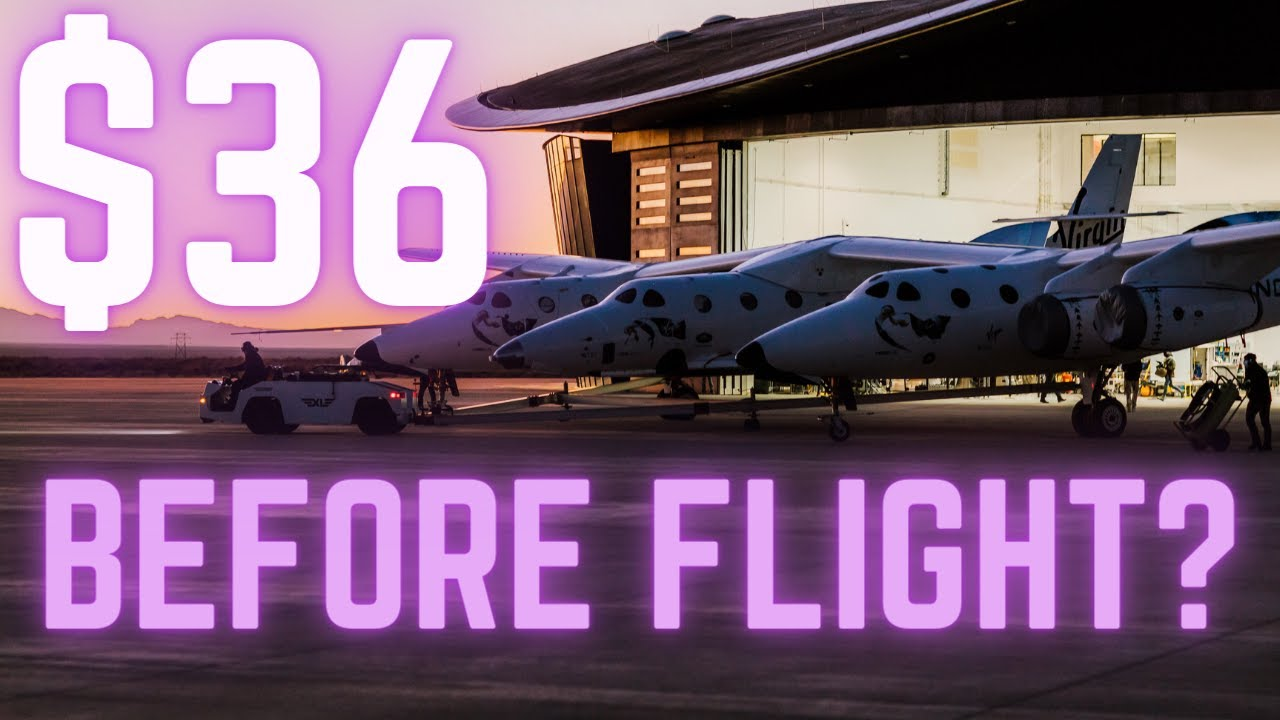 Will Virgin Galactic SPCE get back to $36 BEFORE Test Flight? stock analysis + Channel update!