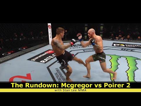 The Rundown: StanLeeMMA's McGregor vs Poirier 2 post fight