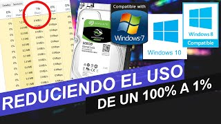 Arreglar Uso Del Disco Duro En 100% | Windows 10/8.1/8 | Garantizado