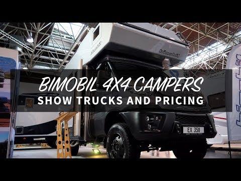 Bimobil 4x4 Camper Tours and Prices :: Caravan Salon 2019