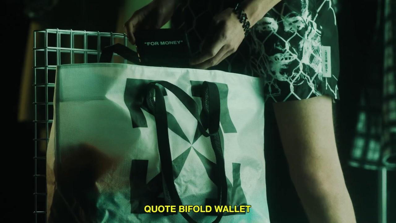 """Off-White c/o Virgil Abloh™ - """"How To"""" ss20 men's"""