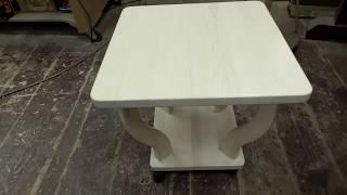 Мебель из дров. Столик для ноутбука.