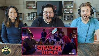 Stranger Things 3 Official Trailer Reaction