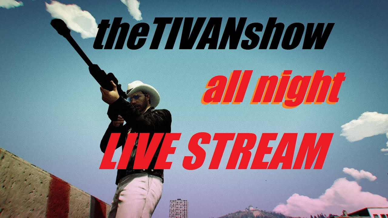 GTA5 - ALL NIGHT LIVE STREAM - EPIC RACES - PS4