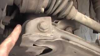 видео Замена рулевой рейки Тагаз