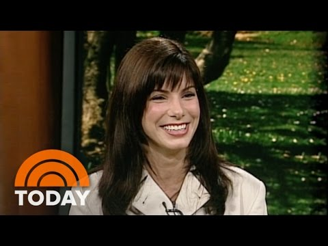 #TBT: Sandra Bullock Takes Over TODAY And Interviews Herself   TODAY