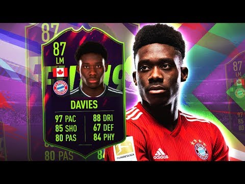 FUTURE STAR DAVIES 87! IS HE WORTH OVER 200K? FIFA 19 ULTIMATE TEAM