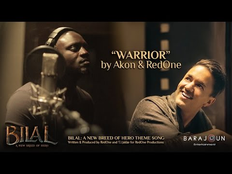 WARRIOR by Akon & RedOne | BILAL Theme Song | Feb 2, 2018 Release
