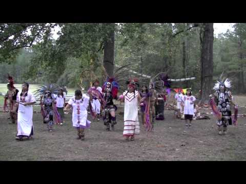 Aztec Dancers Cele Te Day Of The Dead At Jones State Forest Conroe Tx