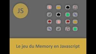 Le jeu Internet du Memory par le code Javascript