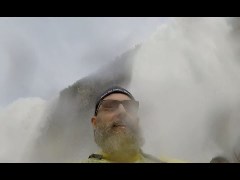 Experiencing: Niagara Falls - Cave Of The Winds - Bridal Veil Falls - Hurricane Deck