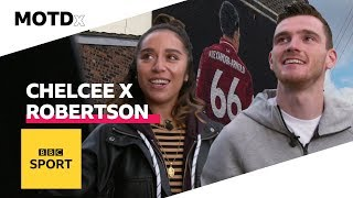 Liverpool FC's Andy Robertson needs his own mural in the city | MOTDx