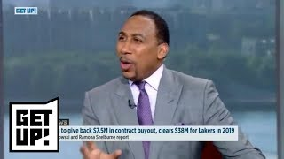 Stephen A. and Jalen Rose debate who the Lakers should get next year | Get Up! | ESPN