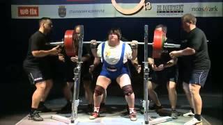 Чемпионат мира по пауэрлифтингу IPF (женщины в.к. 84 и 84+ кг)