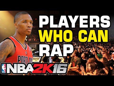 NBA 2K16 Players Who Can Rap