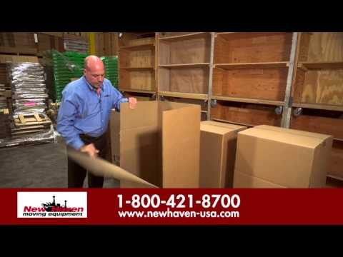 How To Use Wardrobe Box For Packing -New Haven Moving Equipment