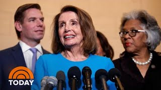 Nancy Pelosi Nominated As Speaker By House Democrats   TODAY