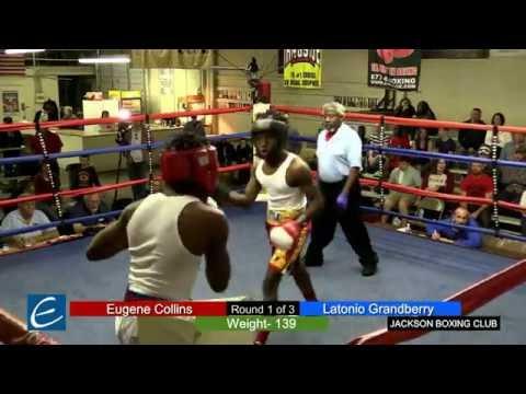 Jackson, Tn Boxing 25MAR2016 E Collins vs L Grandberry