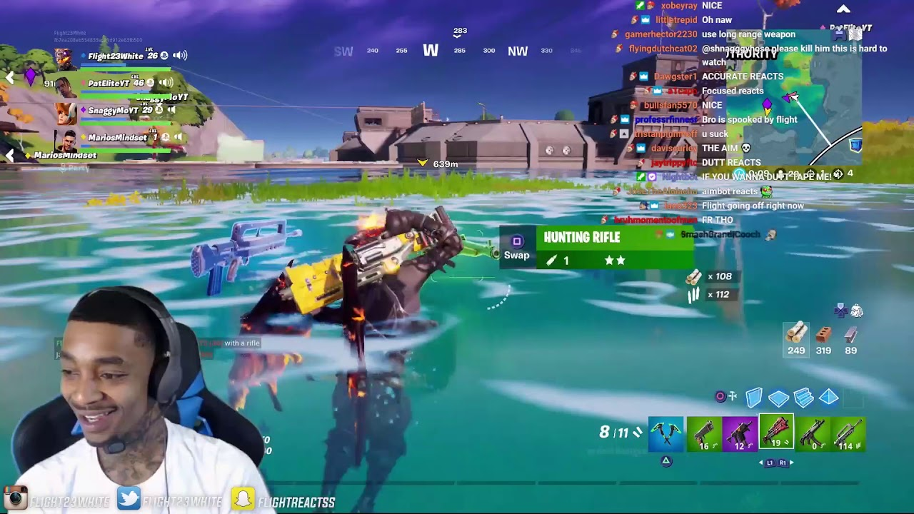Download FlightReacts Played Fortnite NEW Season 3 for the First time & This Happened...