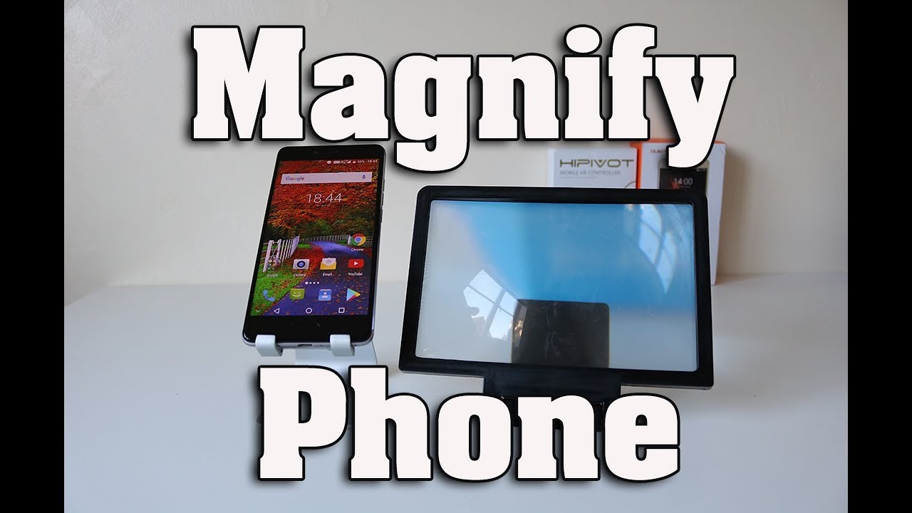 Smartphone Screen Magnifier - Magnify Your Screen