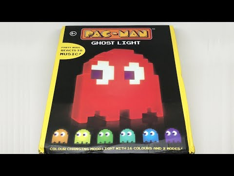 Pac-Man Ghost Light | Unboxing【4K】