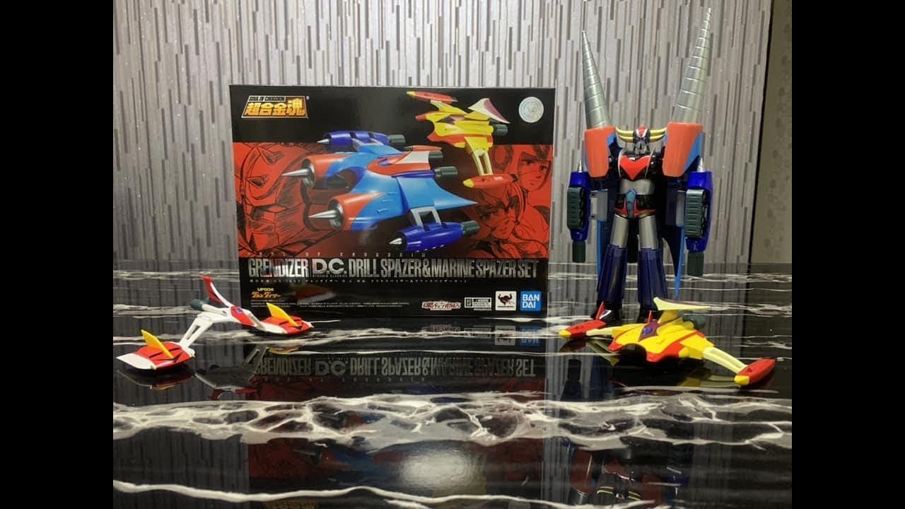 GX-76X2 Grendizer DC Soul of Chogokin Figurines Goldorak