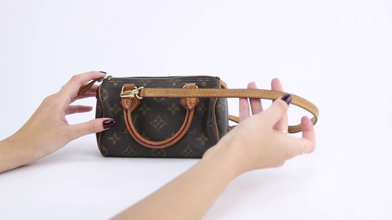 bcea8793493 Bolsa Louis Vuitton Speedy Mini HL Monograma