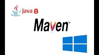 Maven 3.5.2 Installation in Windows 10 with Oracle JDK 8 (Java 8)