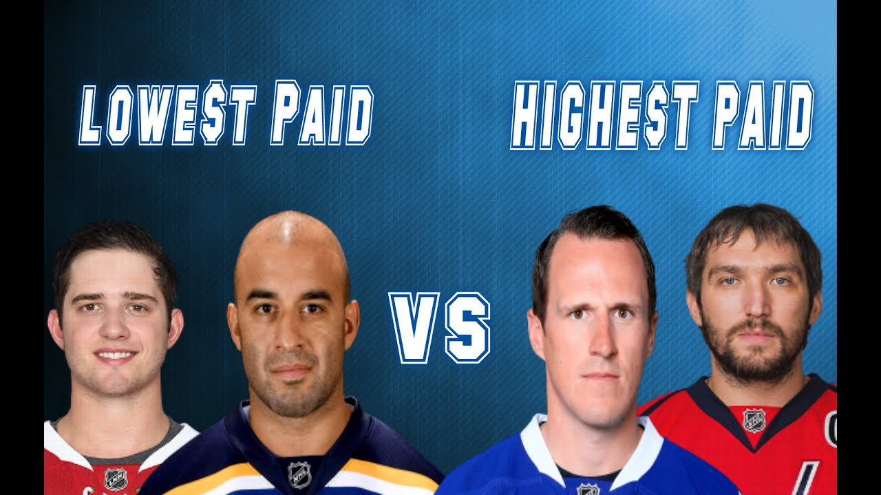 Highest Paid NHL Players vs the Lowest