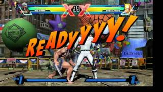 Ultimate Marvel vs Capcom 3 problemas de lag