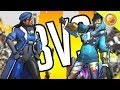 3V3 AGAINST FANS! | Overwatch