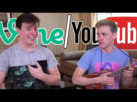 Vine vs YouTube: The Song ft Thomas Sanders