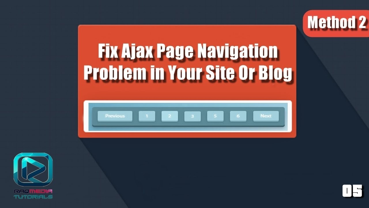 Fix Page Navigation Problems In Your Website - Method 2 - YouTube